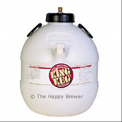 King Keg 5 Gallon Premium Top Tap Barrel