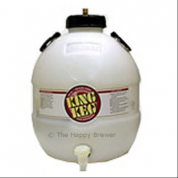 King Keg 5 Gallon Premium Bottom Tap Barrel