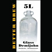 Glass Demijohn 5 Litre