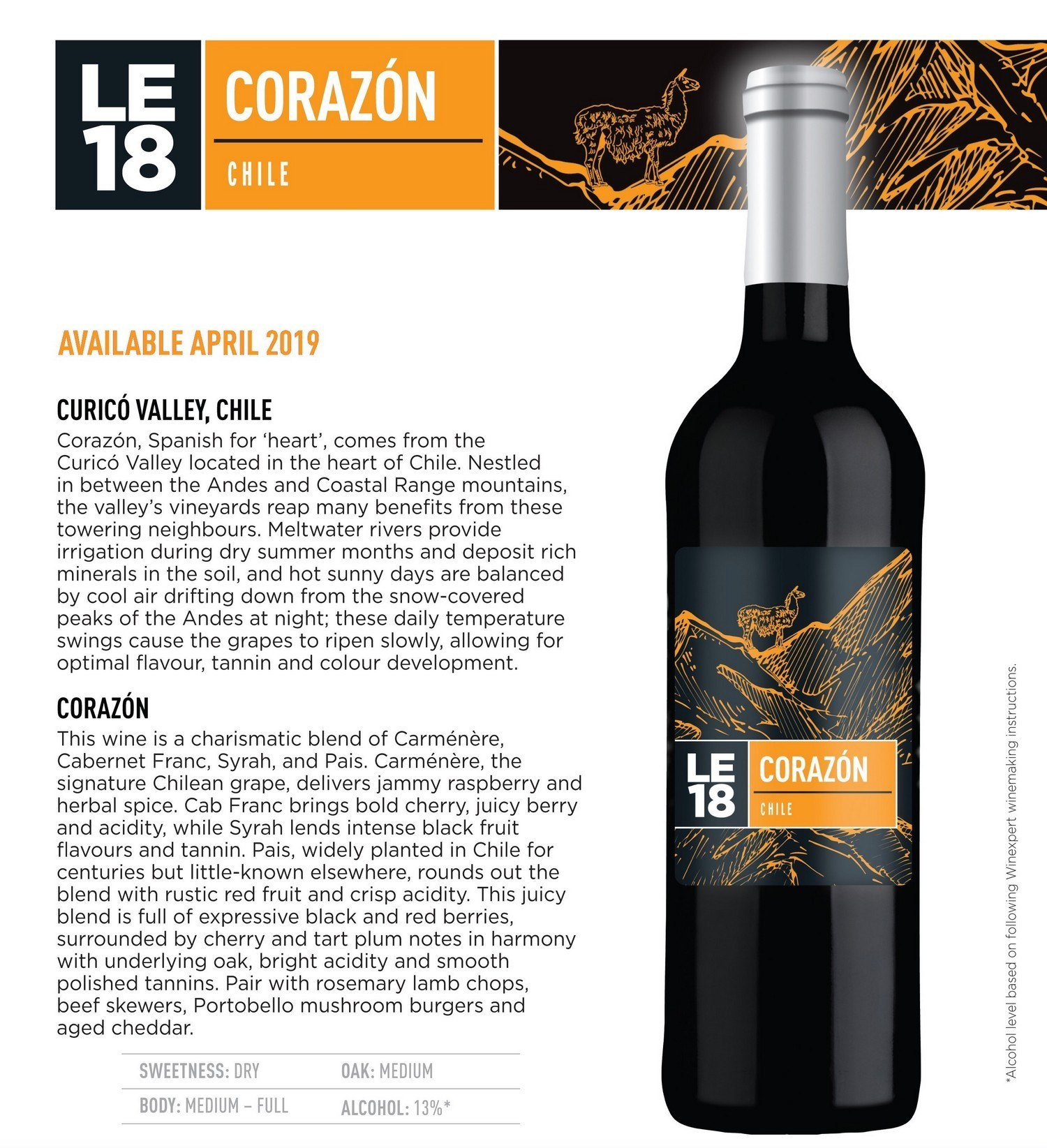 Limited Editions 18 Corazon Chile
